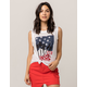 VANS Palm Glitch Womens Tank Top
