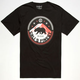 CALI'S FINEST Northern Light Mens T-Shirt