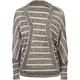 FULL TILT Stripe Cocoon Womens Top