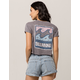 BILLABONG Stamp Womens Crop Tee