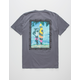 MAUI AND SONS Sharkman On Beach Mens T-Shirt