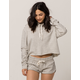 ELEMENT Wendy Ho Womens Crop Hoodie