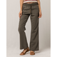 SKY AND SPARROW Twill Womens Wide Leg Pants