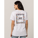 VANS Flamed Party Checker Womens Tee