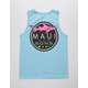 MAUI AND SONS Shark Mens Tank Top