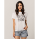 VOLCOM Ring It Up White Womens Tee