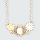 FULL TILT Epoxy Flower Statement Necklace