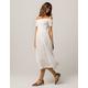 ROXY Pretty Lover Cream Womens Midi Dress