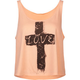 FULL TILT Love Cross Womens Tank