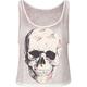 FULL TILT Floral Skull Womens Tank
