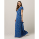 AMUSE SOCIETY Summer Safari Maxi Wrap Dress