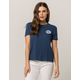 VOLCOM Ring It Up Navy Womens Tee