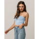 FULL TILT Essentials Light Blue Womens Tube Top