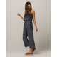 IVY & MAIN Stripe Tube Womens Jumpsuit