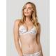 TAVIK White Garden Floral Bikini Top