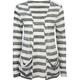 FULL TILT Open Stripe Womens Wrap Sweater