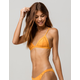 RHYTHM My Bralette Orange Bikini Top