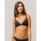 ROXY Softly Love Black Triangle Bikini Top