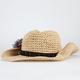 Flower Side Womens Cowboy Hat