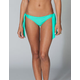 FULL TILT Wide Tie Side Skimpy Bikini Bottoms