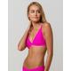 BILLABONG Tanlines Hot Pink Bikini Top
