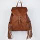 T-SHIRT & JEANS Fringe Backpack