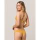 RVCA Solid Shimmer Cheeky Bikini Bottoms