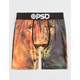 PSD Lion Galaxy Mens Boxer Briefs