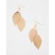 FULL TILT Double Filigree Leaf Earrings