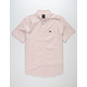 RVCA That'll Do Oxford Pink Mens Shirt
