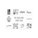 INKED BY DANI The Black & White Pack Temporary Tattoos