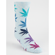 HUF Melange Plantlife Grey Combo Mens Socks