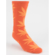 HUF Plantlife Orange Mens Socks