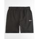 FILA Cyrus Black Mens Sweat Shorts