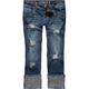 HYDRAULIC Embellished Back Womens Denim Capris
