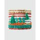FULL TILT 12 Pack Tassel & Beaded Bracelets