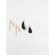 FULL TILT 3 Pairs Feather & Tassel Earrings