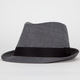 BLUE CROWN Chambray Mens Fedora