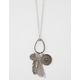 FULL TILT Tassel & Feather Long Necklace
