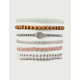 FULL TILT 6 Pack Beaded & Braid Bracelets
