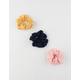 FULL TILT 3 Pack Leaf Scrunchies