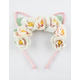 FULL TILT Flower Crown Cat Ears Headband