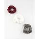 FULL TILT 3 Pack Knit Scrunchies