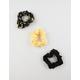 FULL TILT 3 Pack Sunflower Scrunchies