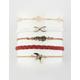 FULL TILT 5 Pack Bird & Infinity Bracelets