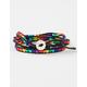 FULL TILT Rainbow Beaded Wrap Bracelet