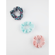 FULL TILT 3 Pack Floral Scrunchies