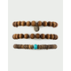 FULL TILT 3 Pack Live Surf Love Beaded Bracelets