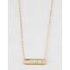 FULL TILT Heart Bar Necklace