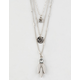 FULL TILT 3 Pack Crystal Necklaces